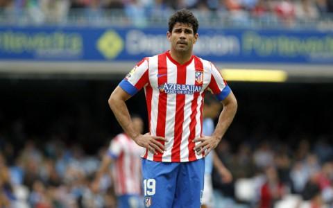 Diego Costa Atlético Madrid mezben