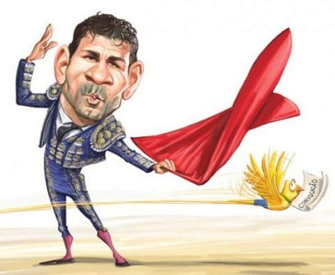 Diego Costa spanyolként