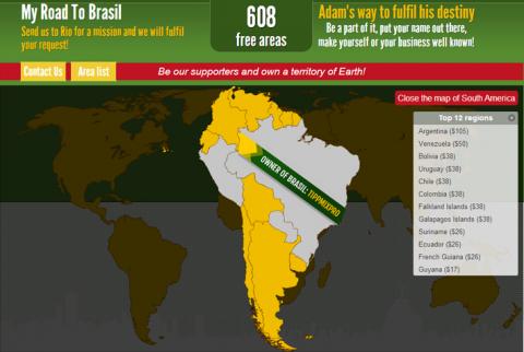 My-Road-To-Brasil---Dél-Amerika