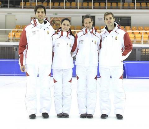 A magyar olimpiai csapat sportruhája Szocsiban