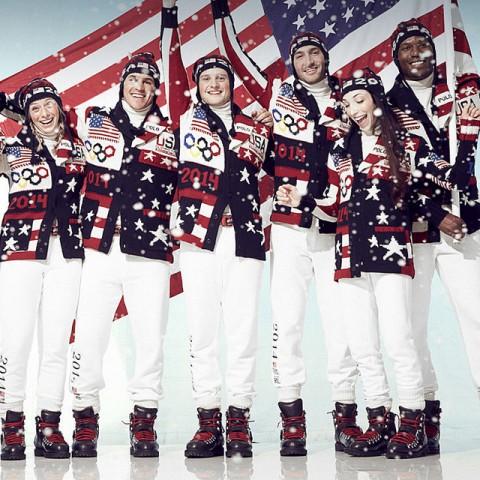 Az amerikai olimpiai csapat formaruhája Szocsiban