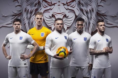 Az angol válogatott a 2014-es vb-mezben