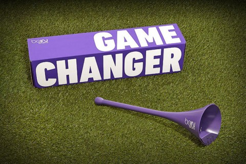 Game changer vuvuzela