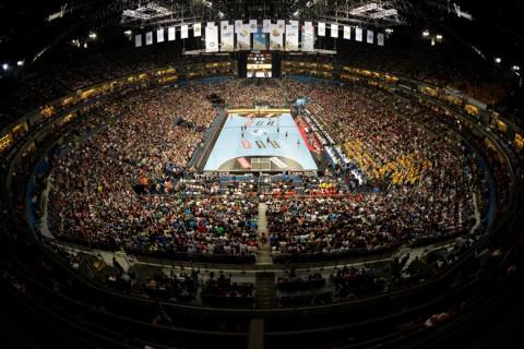 Lanxess Arena kézi BL Final Four
