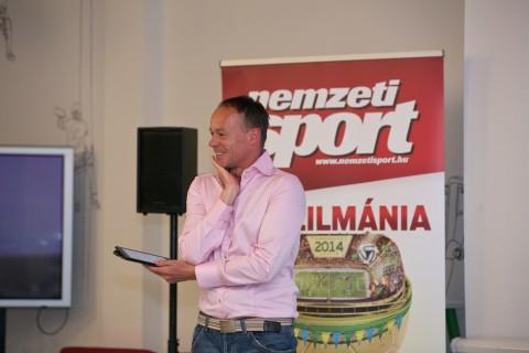 Szombathy Pál, a DIGI Sport műsorvezetője