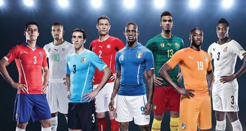 Team Puma World Cup 2014