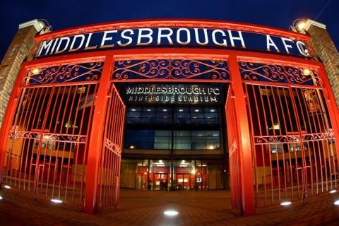 Middlesbrough stadion bejárat