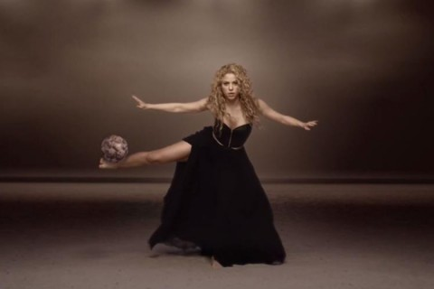 Shakira football