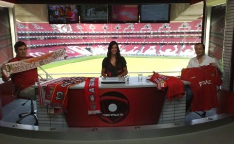 Benfica TV studio