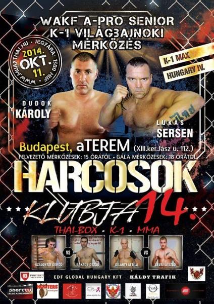 Harcosok Klubja 14 plakát