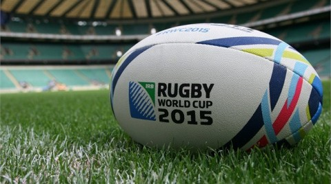 Rugby World Cup 2015 labda