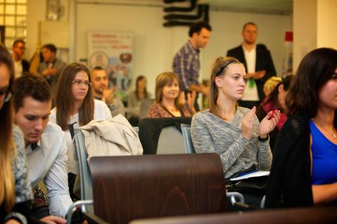 A sport társadalmi hatásai meetup résztvevői