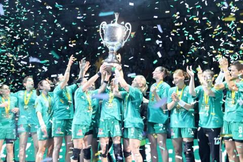 Kézilabda Bajnokok Ligája győztes a Győri Audi ETO KC