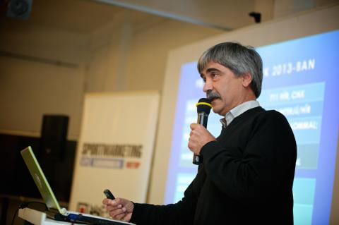 Kocsis Árpád, a BSI ügyvezető-versenyigazgatója