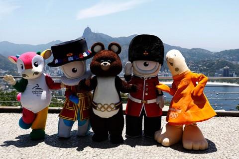 Olimpiai kabalafigurák Rióban