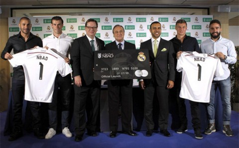 Real Madrid NBAd sponsorship