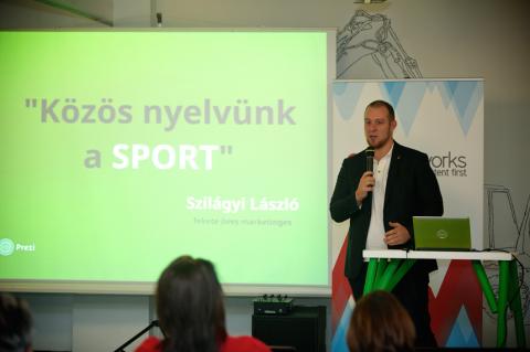 Szilágyi László, a Merkapt Zrt. marketing vezetője
