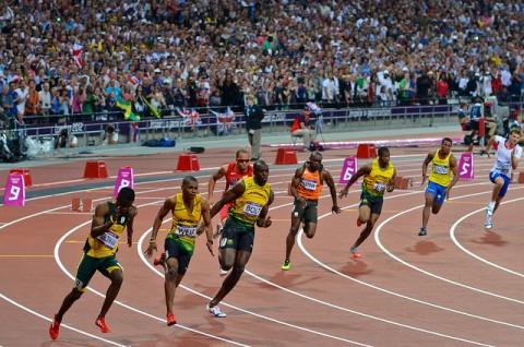 200 méteres síkfutás döntő Usain Bolttal