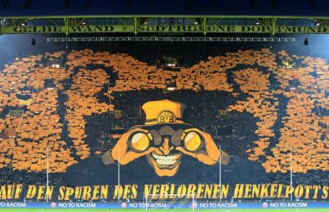 Borussia Dortmund szurkolói kép