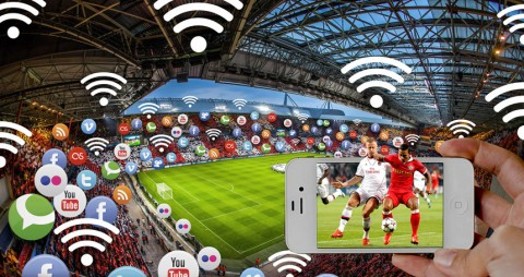 Connected stadium