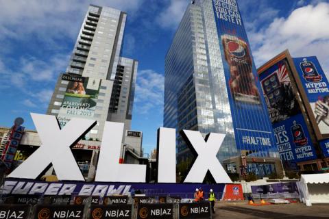 Super Bowl XLIX Pepsi plakátok