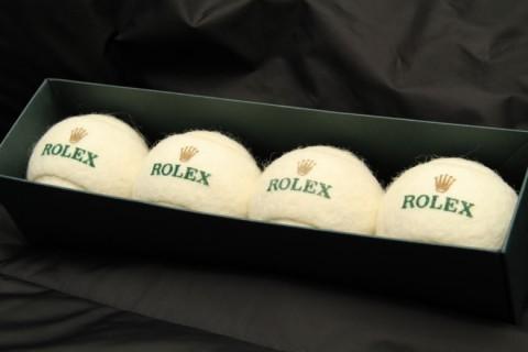 Rolex teniszlabdák