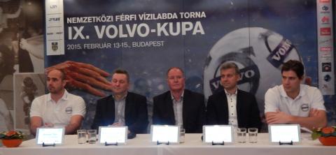 Volvo Kupa 2015 sajtótájékoztató