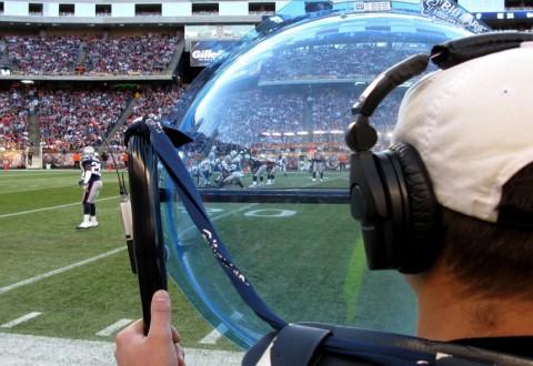 NFL action cam