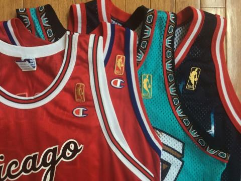 Champion NBA jerseys