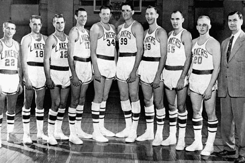 early years Lakers