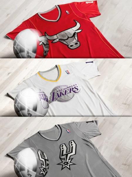 Xmas edition adidas NBA jerseys