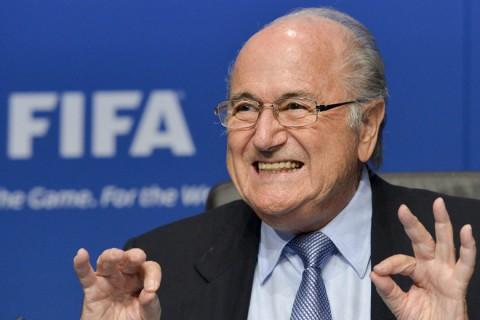 Sepp Blatter öröme