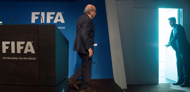Blatter exit