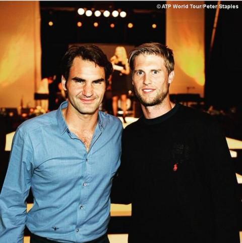 2015 döntősei, Federer és Seppi