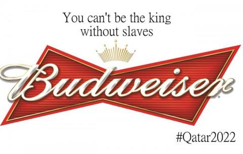 Katar 2022 emberi jogok kampány - Budweiser