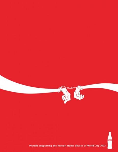 Katar 2022 emberi jogok kampány - Coca Cola