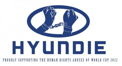 Katar 2022 emberi jogok kampány - Hyundai