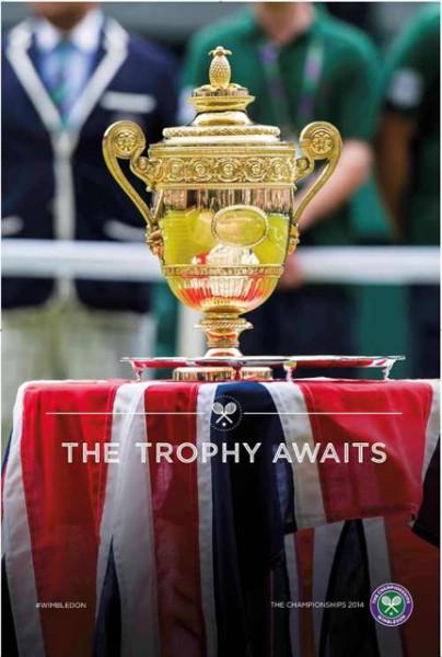 Wimbledon awaits kampány plakátok 2014