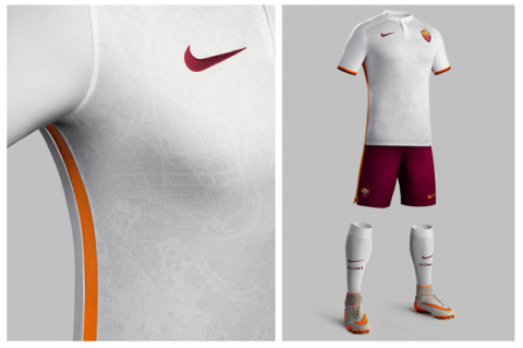 Az AS Roma új idegenbeli viseletének minden részlete kidolgozott, így erősítve a büszkeséget a római játékosokban és szurkolókban egyaránt.