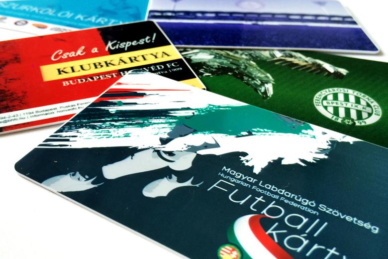 Szurkolói klubkártyák