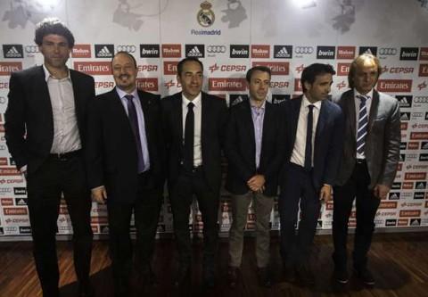 Real Madrid new staff