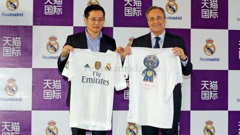 Florentino Perez az Alibaba tulajdonosával