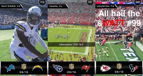 NFL-snapchat