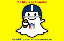 A Snapchaten is hódít az NFL