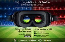 Virtuális valóságban közvetítették a Porto-Benficát