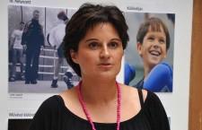 KOÓS-LUKÁCS TÍMEA, a Nagy Sportágválasztó kommunikációs igazgatója