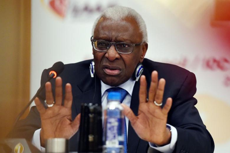 Lamine Diack az IAAF korábbi elnöke