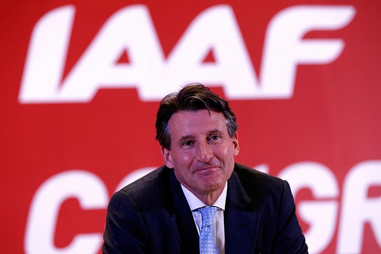 Sebastian Coe, az IAAF jelenlegi elnöke.
