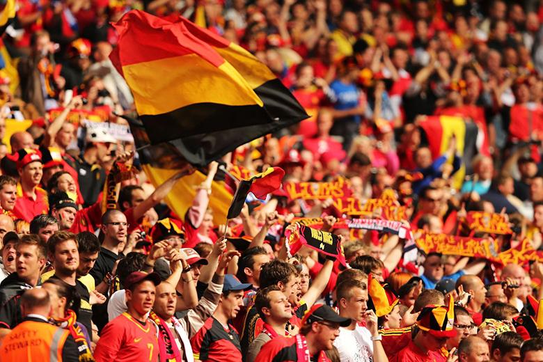 Belgium-szurkolok