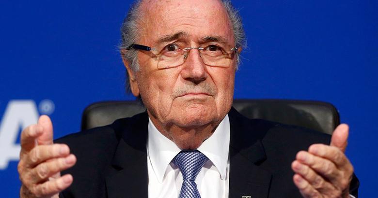 Sepp Blatter, a FIFA korábbi elnöke